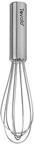 Tovolo Whip Blending Beating Stirring Stainless Steel Whisk 11', Kitchen Balloon Hand, 6' Mini, Silver
