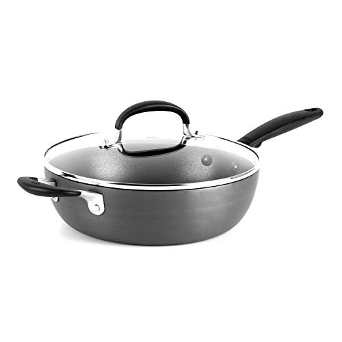 OXO Good Grips 3QT Covered Chef Pan with Helper Handles, Black