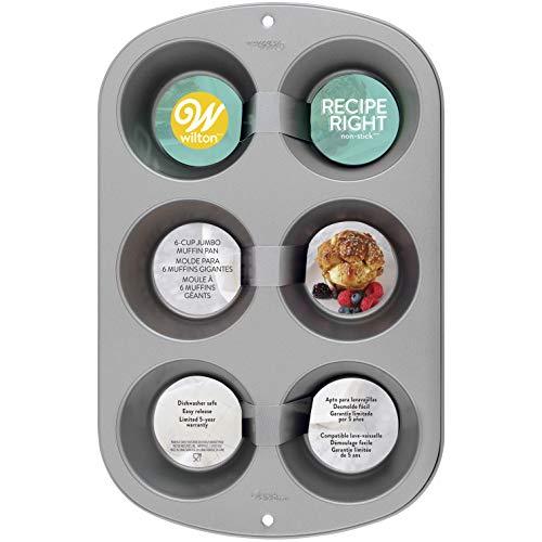 Wilton 2105-955 6-Cup Jumbo Muffin Pan