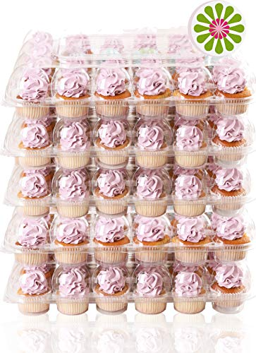 Stack-n-Go Cupcake Containers [24 Pack] (5, 5 Sets)