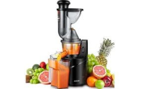 Aicok 3 Wide Mouth Whole Masticating Juicer