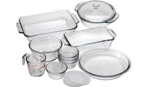 Anchor Hocking Oven Basics 15-Piece Glass Bakeware Set