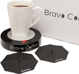 Bravo Coffee Electric Personal Coffee Mug & Beverage Warmer