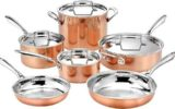 Cuisinart 10pc Tri-Ply Cooper Cookware Set