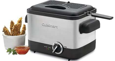 Cuisinart CDF-100 Compact 1.1-Liter Deep Fryer