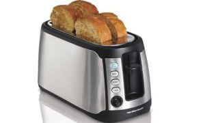 Hamilton Beach 4-Slice Long Slot Keep Warm Toaster