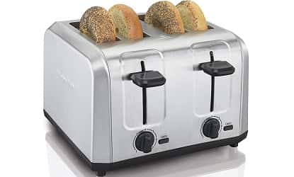 Hamilton Beach Brushed Stainless Steel 4-Slice Toaster