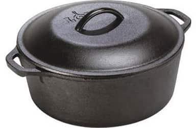 Lodge 7 Quart Pre-Seasoned Cast Iron Dutch Oven