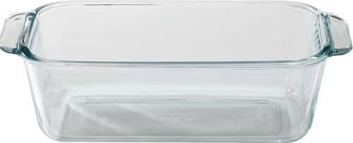Pyrex 1.5-Quart Clear Basics Glass Loaf Pan
