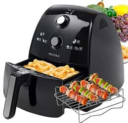 Secura Electric Hot Air Fryer Extra Large Capacity Air Fryer