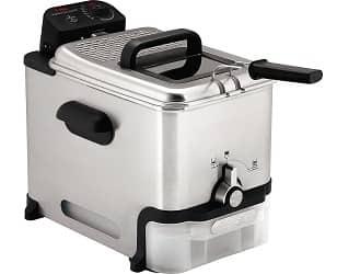 T-fal 7211002145 FR8000 Oil Filtration Ultimate EZ Clean 3.5-Liter Fry Basket Stainless Steel Immersion Deep Fryer