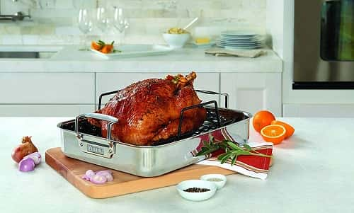 Viking 3-Ply Stainless Steel Roasting Pan