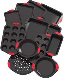 Vremi 12 Piece Nonstick Bakeware Set