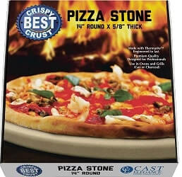 CastElegance Pizza Stone for Crispy and Crust Pizza