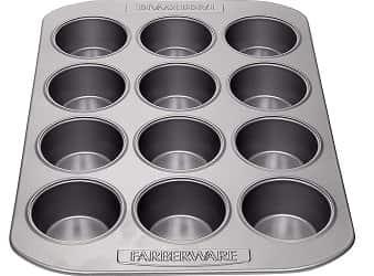 Farberware Nonstick Bakeware 12-Cup Muffin Pan