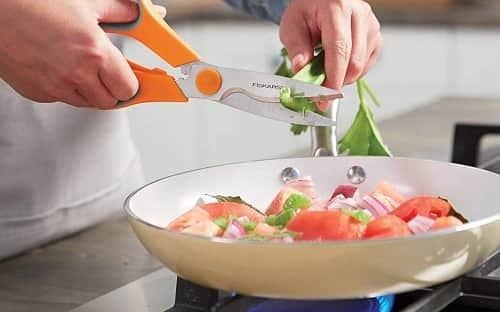 "Fiskars 8"" All-Purpose Kitchen Shears"