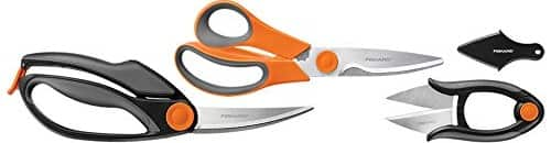 Fiskars Heavy Duty, Fast Prep, All-Purpose 3-Piece Kitchen Shears Set