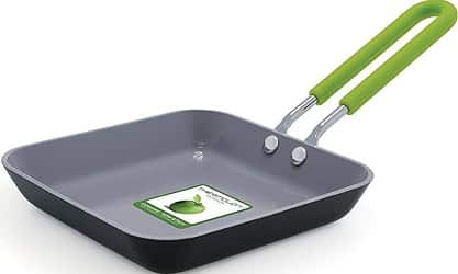 GreenPan Mini Ceramic Non-Stick Square Egg Pan