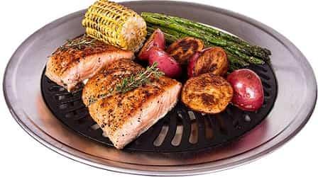 Kitchen + Home Stovetop Smokeless Indoor BBQ