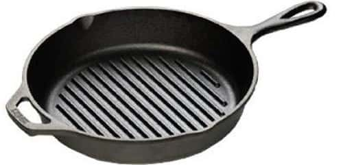 Lodge L8GP3 Cast Iron Grill Pan