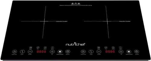 NutriChef Portable Electric Induction Cooker Cooktop