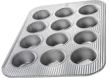 USA Pan (1200MF) Bakeware Cupcake and Muffin Pan