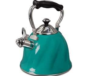 Coffee 92114.01 Alderton 2.3 Quart Stainless Steel Whistling Tea Kettle