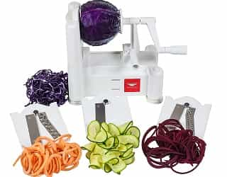 Paderno World Cuisine 3-Blade Vegetable Slicer