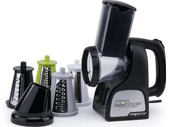 Presto 02970 Professional Salad Shooter Electric Slicer