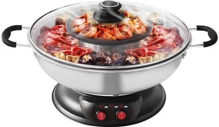Sonya Electric Shabu Shabu Hotpot