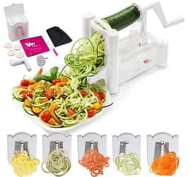 WonderVeg Strongest and Heaviest 5-Blade Vegetable Spiralizer