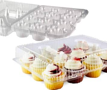 Chefible 12 Cupcake Container