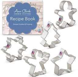 Christmas Holiday Cookie Cutter Set