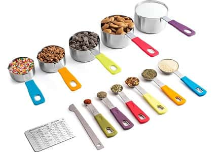 KUKPOMeasuring Cups and Spoons Set