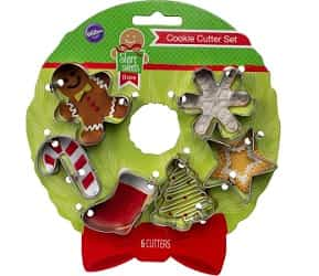 Wilton Holiday Mini Cookie Cutter set