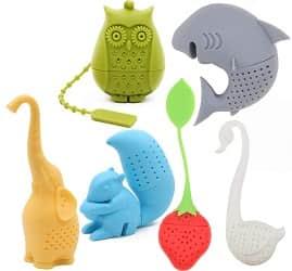 Creative Cute Animal Eco-friendly Silicone Tea Infuser