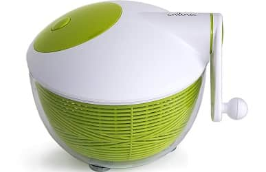 Culina 3qt Space saver Salad Spinner