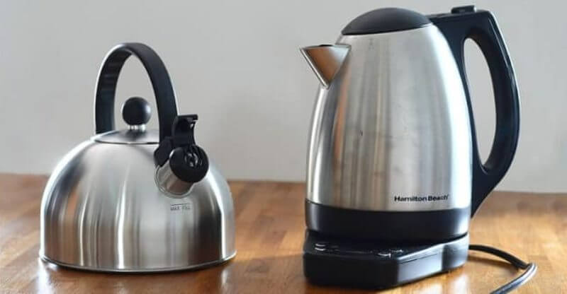Electric Kettle Vs Whistling Kettle