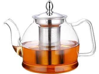 Hiware 1000ml Glass Teapot