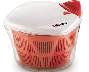 MUELLER Large 5L Salad Spinner