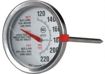 Oven safe thermometer