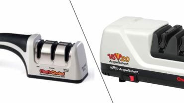 Electric Knife Sharpener VS Manual Sharpener