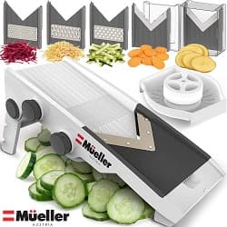Mueller Austria V-Pro Multi Blade Adjustable Slicer