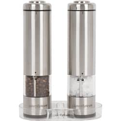 Latent Epicure Battery Operated Salt and Pepper Grinder
