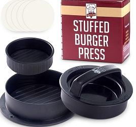 RZSAIDA Non-Stick Burger Press Patty Maker