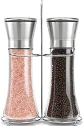 Willow and Everett Original Stainless Steel Salt and Pepper Grinder