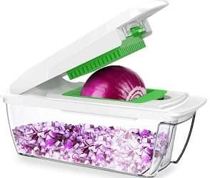 CHUGOD Vegetable Chopper Mandoline Slicer Dicer