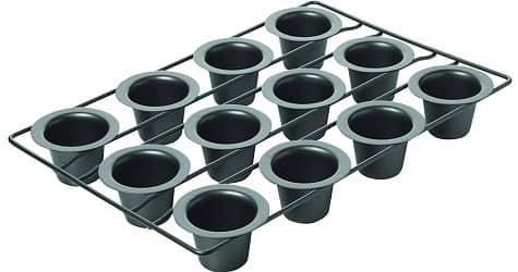 Chicago Metallic Professional 12-Cup Non-Stick Mini-Popover Pan