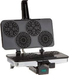 CucinaPro Mini Italian Pizzelle Waffle Maker