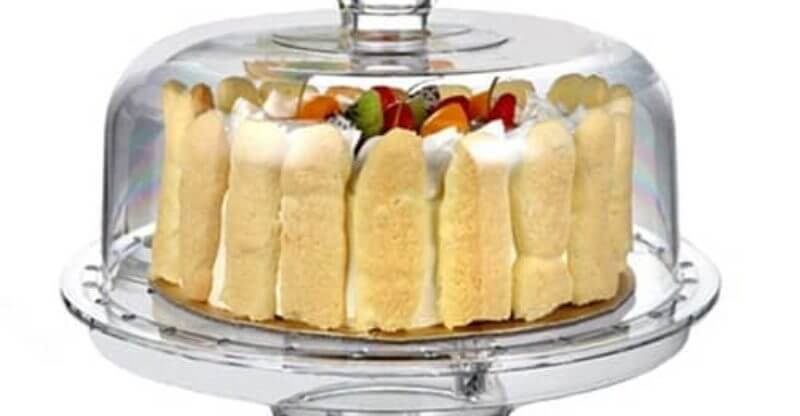 HBlife Acrylic Cake Stand